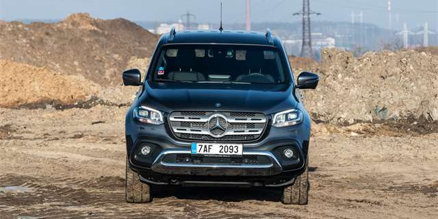 TEST Mercedes-Benz X 350 d 4Matic Power