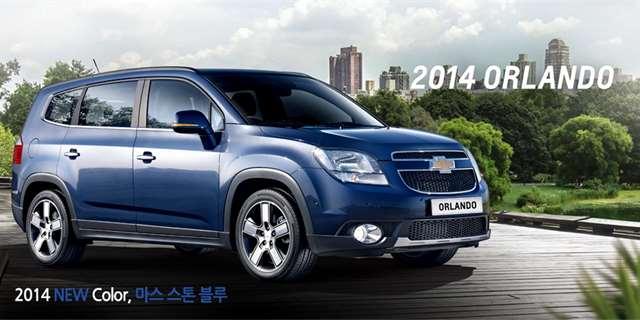 Chevrolet Orlando Proel Decentnm Faceliftem Tte Se Na Nov