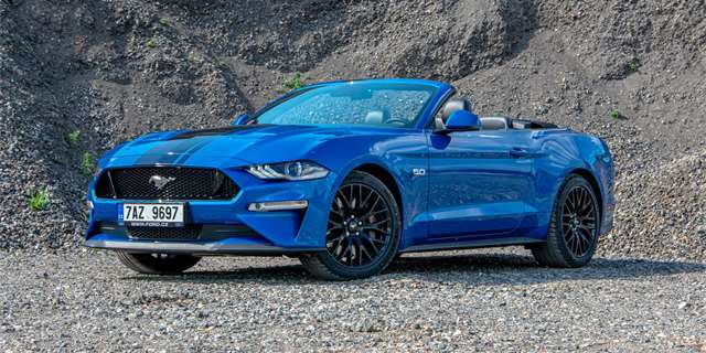 TEST Ford Mustang 5.0 GT Convertible