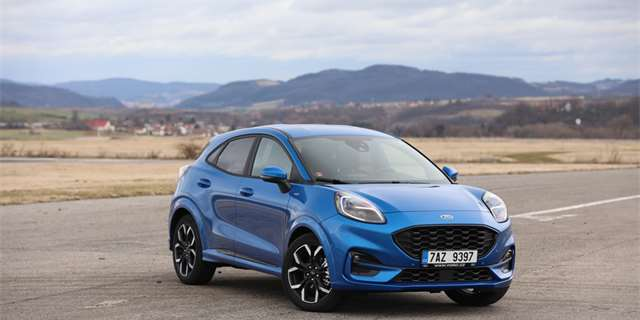 TEST Ford Puma ST-Line X