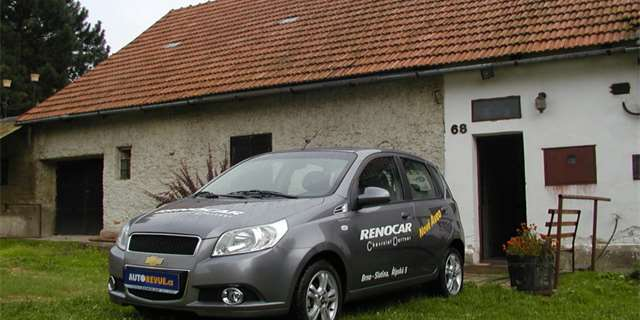 Test Chevrolet Aveo 1,4: top-end pod 300 tisíc