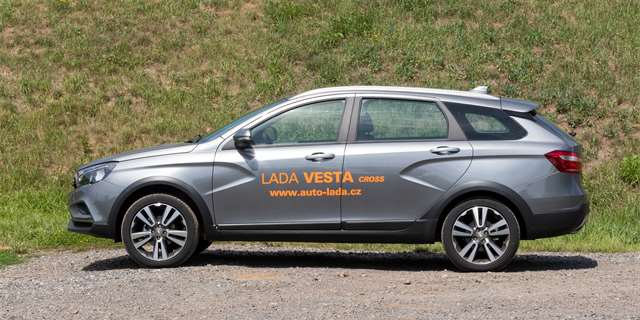 | TEST Lada Vesta SW Cross