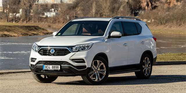 TEST SsangYong Rexton G4 2.2 e-XDi 4x4 AT