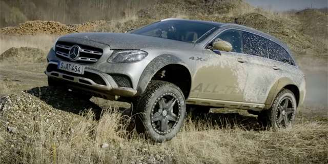Mercedes-Benz třídy E All-Terrain 4x4²