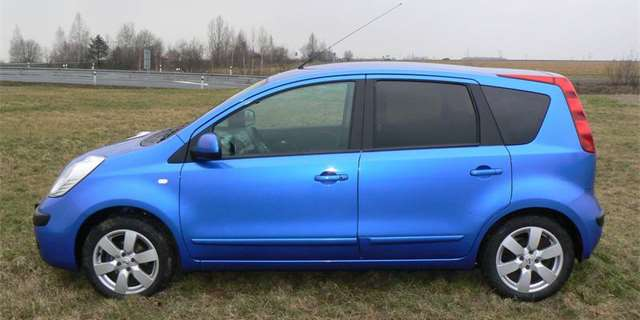Nissan Note 1,6: Roomstero-bijec (test)