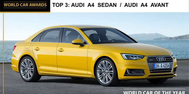 Audi A4 - finalista World Car of the Year 2016