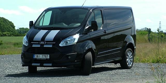 Test Ford Transit Custom Sport Van 2 2 Tdci Pozor Atlet