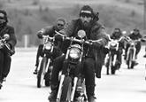 Gang Hells Angels děsil Ameriku 60. let. Dobové fotky mapují jeho bouřlivý život