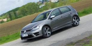 Test Volkswagen Golf R: Nadgolf
