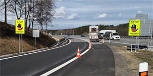 8691ca024 Na dálnicích se začíná objevovat značka STOP-PROTISMĚR. Jde o reakci na  dřívější nehody