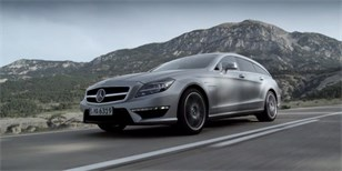 Mercedes-Benz CLS 63 AMG Shooting Brake: fotografie, videa