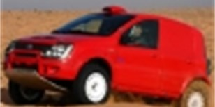 Fiat Panda Cross Dakar, mini off-road