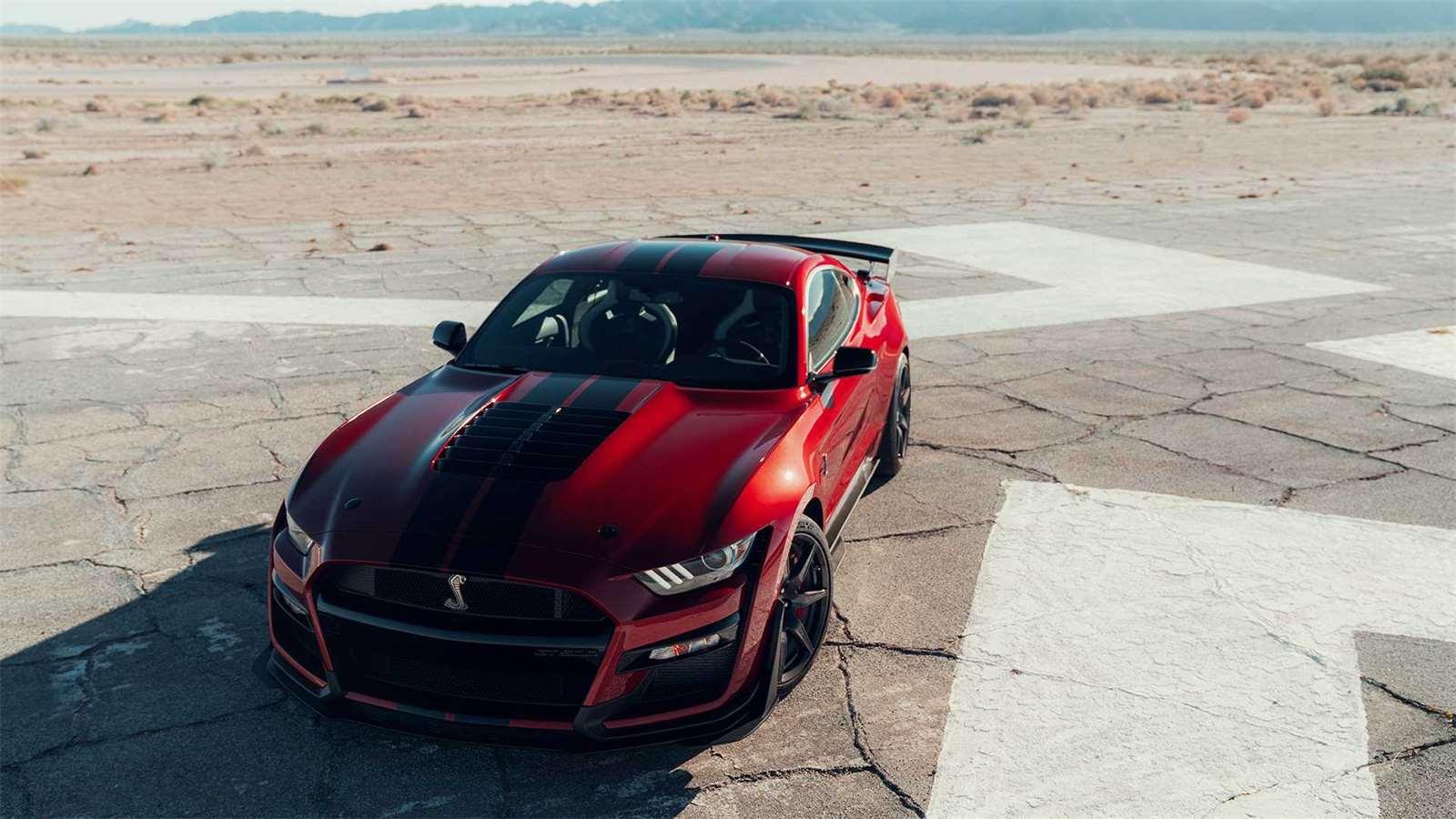 Galerie - Co mají společného Ford Mustang Shelby GT500 a Chevrolet ... 9bcf2bb943