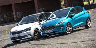 Ford Fiesta vs. Škoda Fabia – Malí, drazí, automatoví…